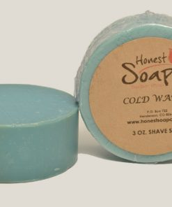 Cold Water Shave Soap by Honest Soap Company, Henderson, Colorado