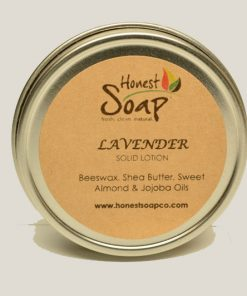 Lavender Solid Lotion by Honest Soap Company of Henderson Colorado