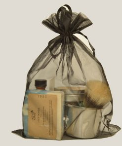 Large Shave Gift Bag by Honest Soap Company of Henderson, Colorado