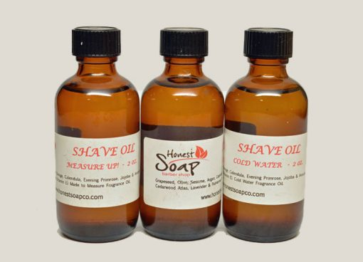 Shave Oil 2 ounce by Honest Soap Company of Henderson, Colorado