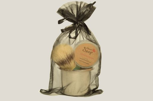 Small Shave Gift Bag by Honest Soap Company of Henderson, Colorado