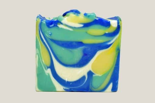 Morning Mint natural soap by Honest Soap Company of Henderson, Colorado